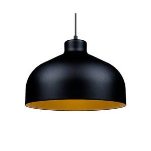 Čierno-zlaté stropné svetlo Loft You B&B, 33 cm