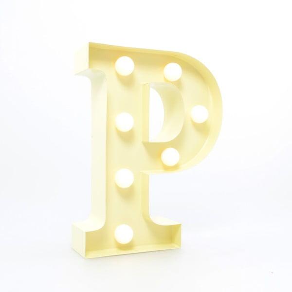 Dekoratívne svetlo Carnival P, vanilkové