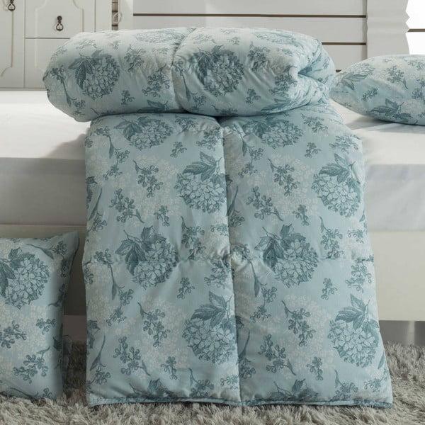 Prikrývka na posteľ Ames Mint, 195x215 cm