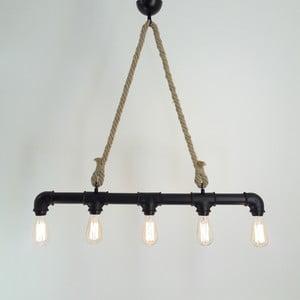 Stropné svietidlo so 6 žiarovkami Borulu