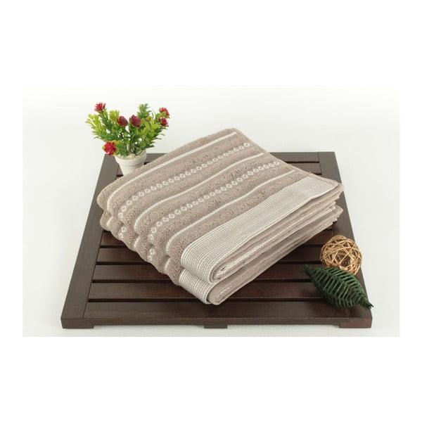 Sada 2 uterákov Patricia Bombeli Grey, 50x90 cm