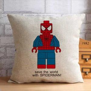 Obliečka na vankúš Spiderman, 45x45 cm