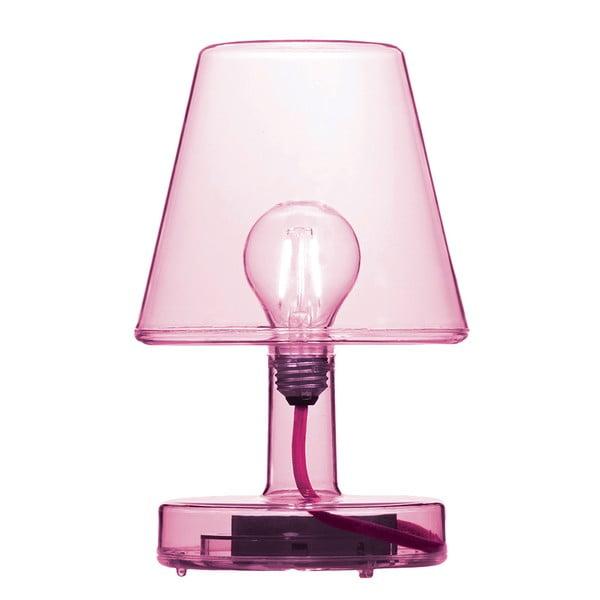 Růžová stolová lampa Fatboy Transloetje