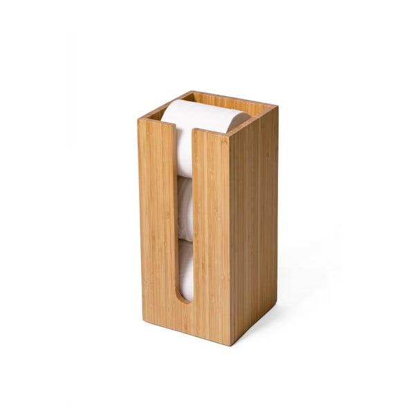 Drevený stojan na uskladnenie toaletného papiera Wireworks Arena Bamboo