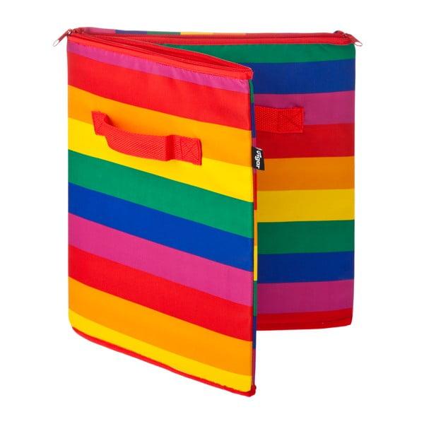 Úložný kôš na zips Rainbow