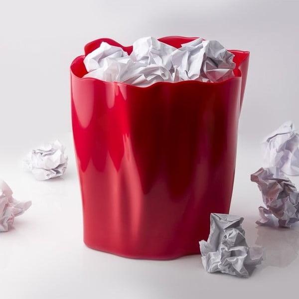 Odpadkový kôš QUALY Flow Bin, červený