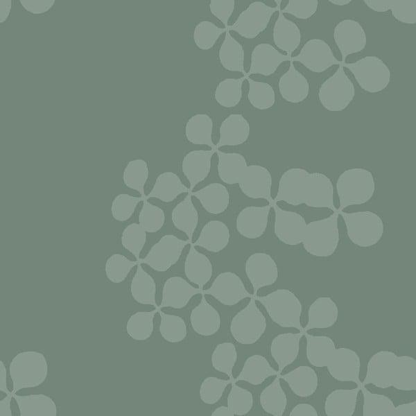 Tapeta Flowerchain Green