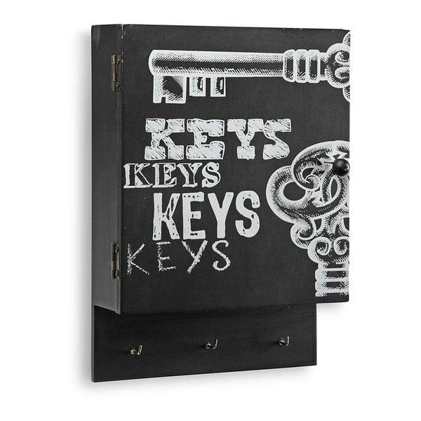 Skrinka na kľúče Key Black Door
