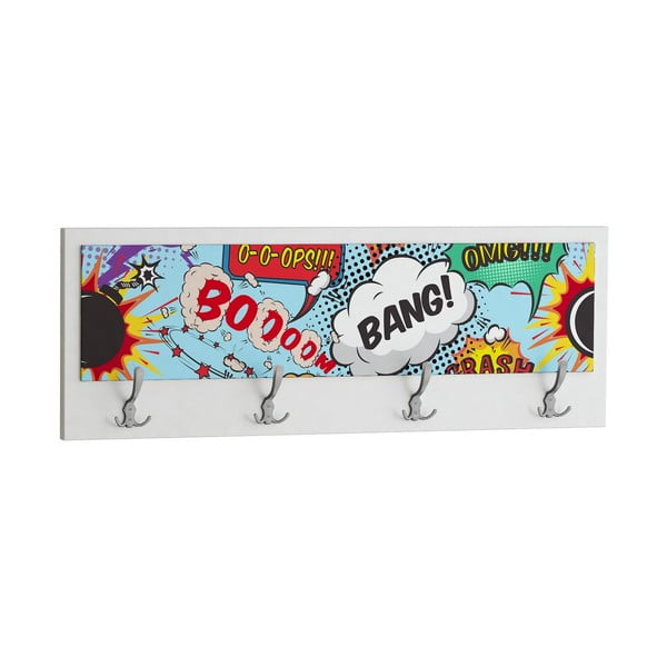 Vešiak Boom Bang, biely
