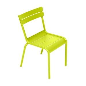 Limetkovozelená detská stolička Fermob Luxembourg