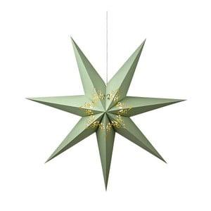 Svietiaca hviezda Kandy Light Green, 75 cm