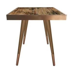 Príručný stolík Caresso Autumn Square, 45 × 45 cm