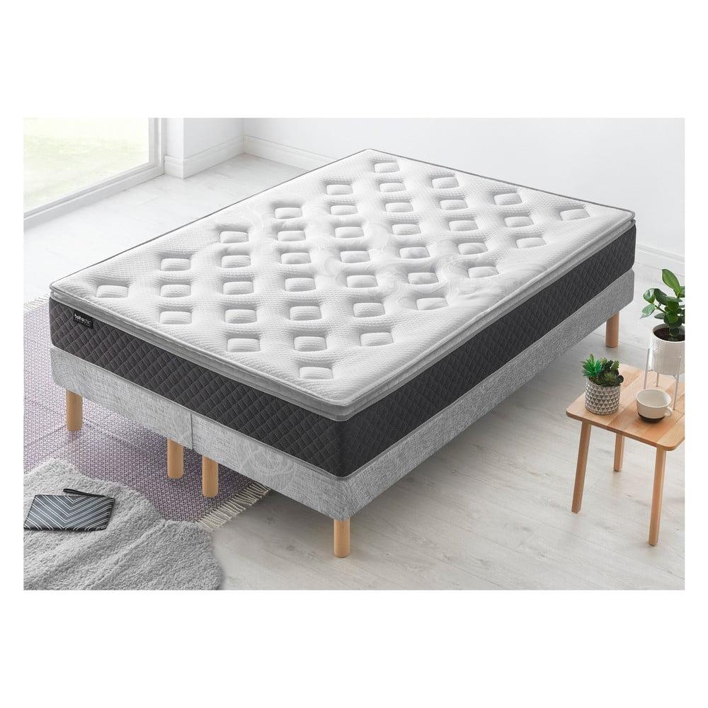 Dvojlôžková posteľ s matracom Bobochic Paris Fraicheur, 100 x 200 cm + 100 x 200 cm