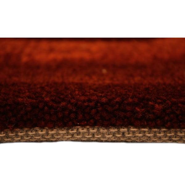 Ručne tkaný koberec Phoenix, 140x200 cm, červený