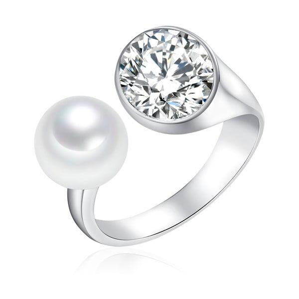 Perlový prsteň South Sea, 3 cm