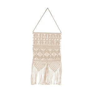 Béžová závesná dekorácia House Doctor Artesian Ivory, dĺžka 60 cm