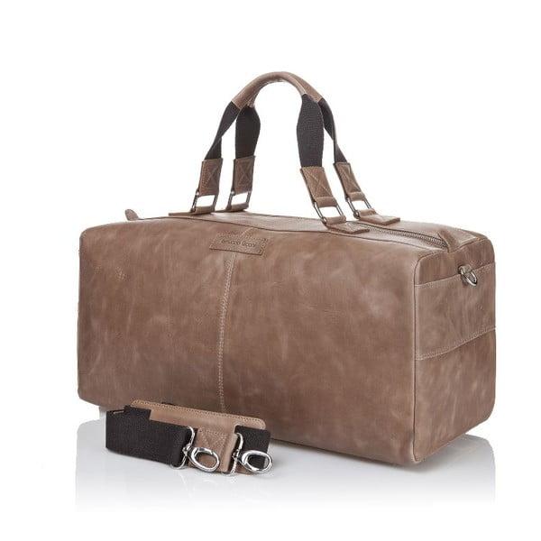 Pánska kožená taška Ferruccio Laconi 102 Havana