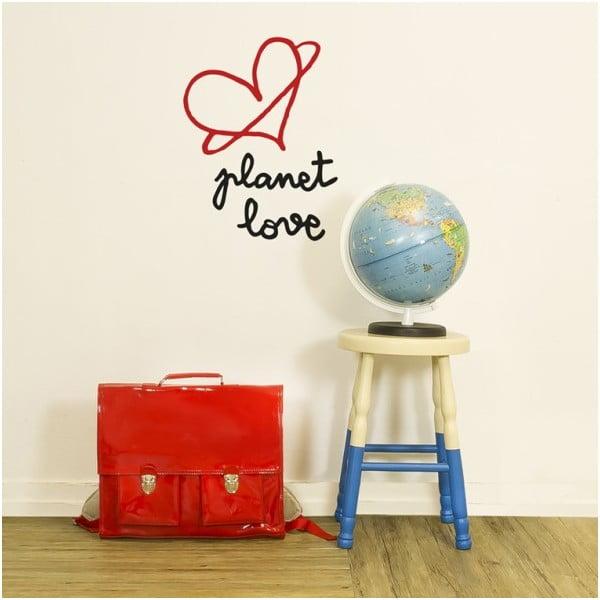 Dekoratívna samolepka na stenu Planet Love