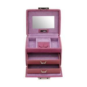 Šperkovnica Candy Light Purple, 12x9,5x9 cm