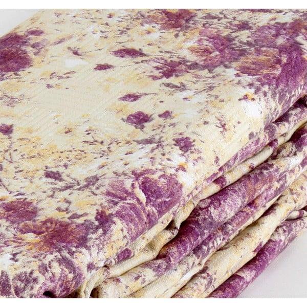 Fialová prikrývka na posteľ Love Colors Jayla, 200 x 240 cm