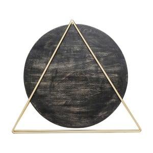 Čierna stolová lampa Kare Design Triangle