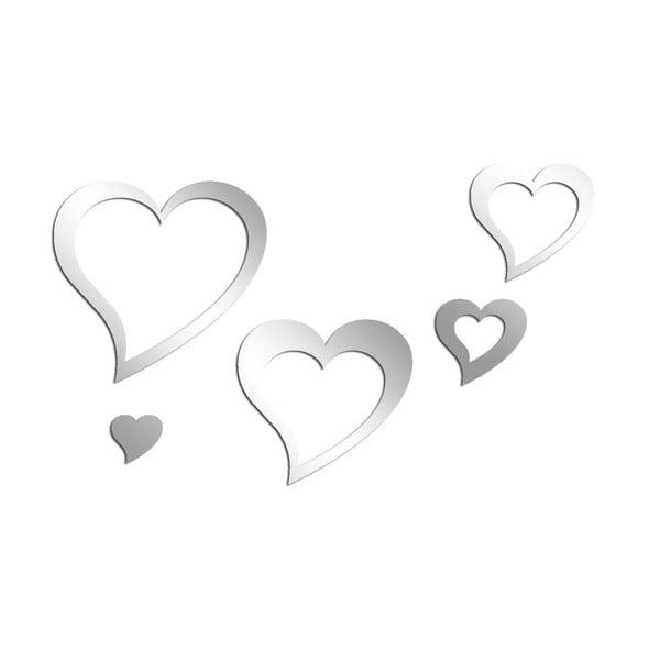 Dekoratívne zrkadlo Asir Hearts