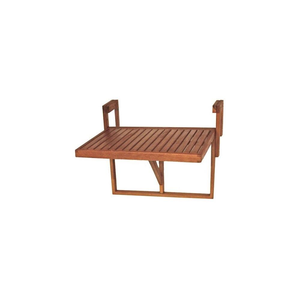 Balkónový závesný stôl z eukalyptového dreva ADDU Berkeley