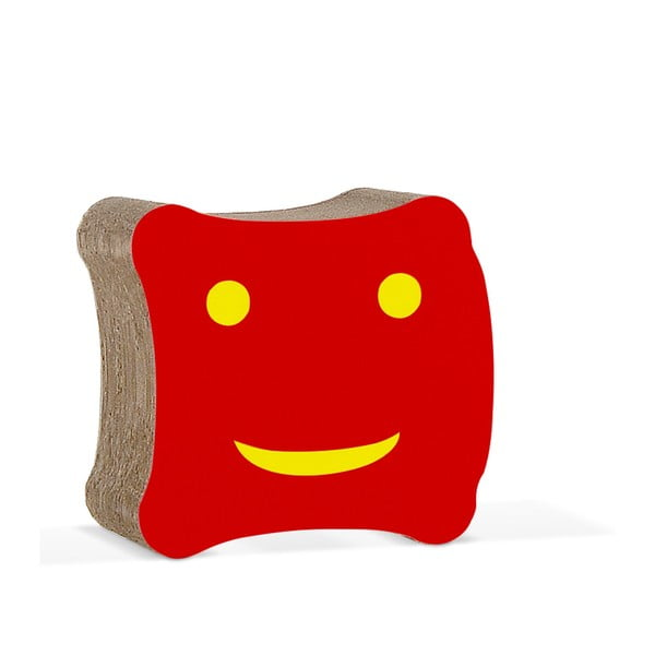 Detská kartónová stolička Biscotto Red