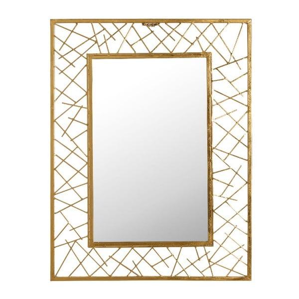 Zrkadlo Golden Vibe, 61x81 cm