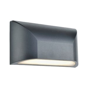 Sivé nástenné svietidlo Markslöjd Nikos