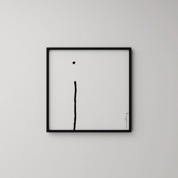 Plagát Litera I, 50x50 cm