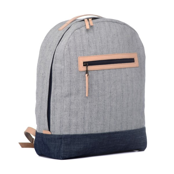 Batoh Popular Backpack Denim