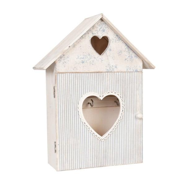 Skrinka na kľúče Blue Love House