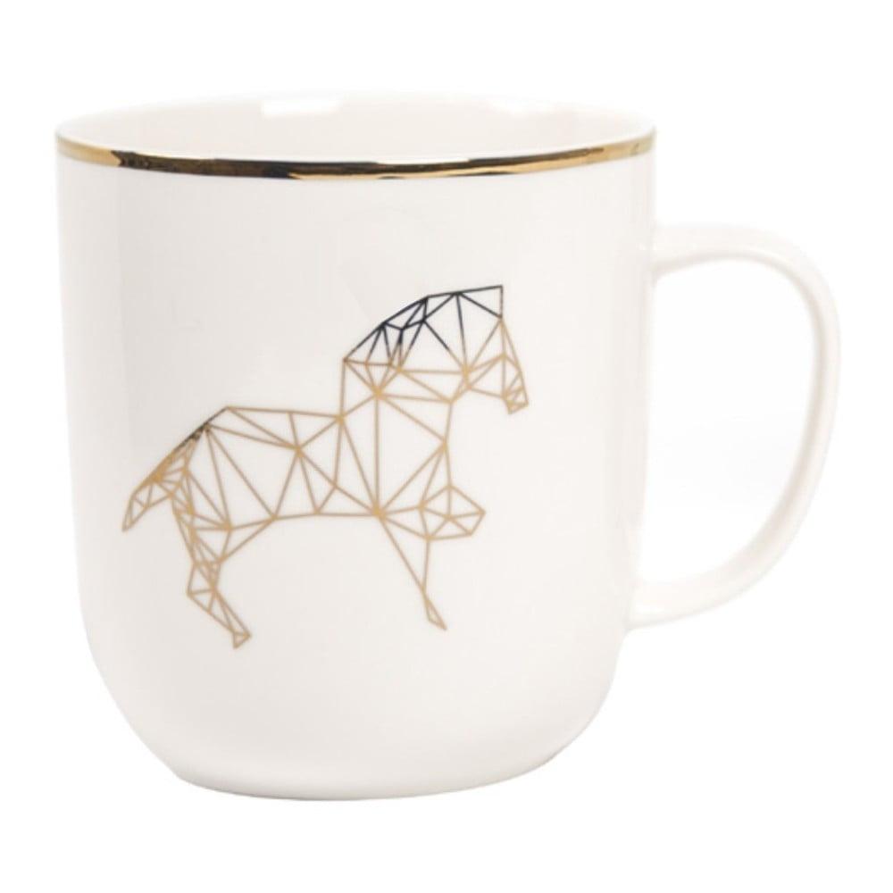 Hrnček z kostného porcelánu Sabichi Harry Horse, 385 ml