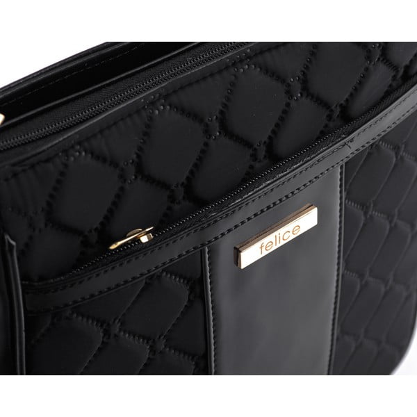 Kabelka Felice Glossy Quilted