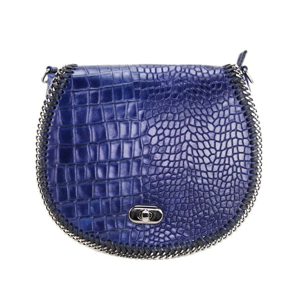 Kožená kabelka Valentina Blu