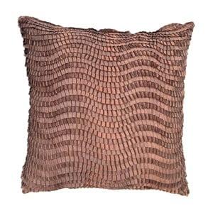Vankúš Copper Croco , 45x45 cm