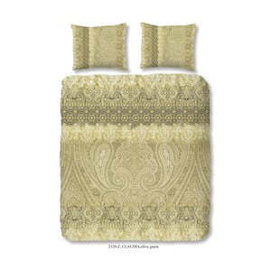 Obliečky na dvojlôžko z bavlneného saténu Muller Textiels Massika, 200 x 200 cm