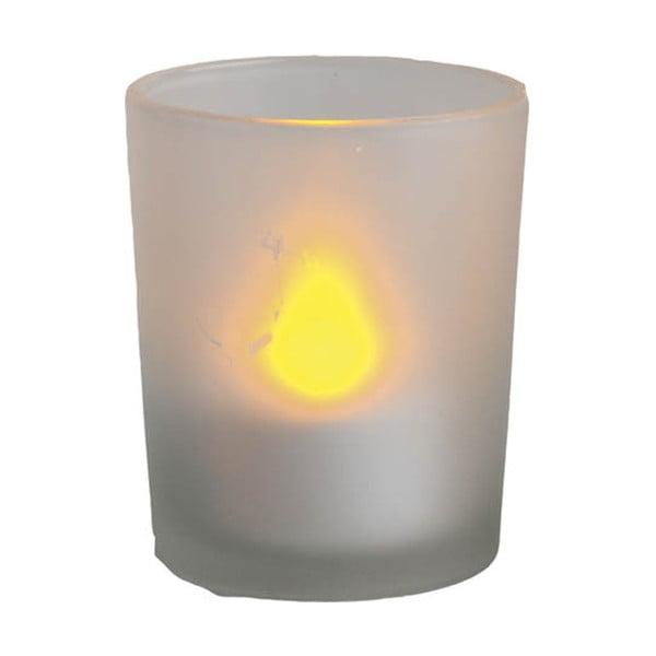 Svietnik s LED sviečkou