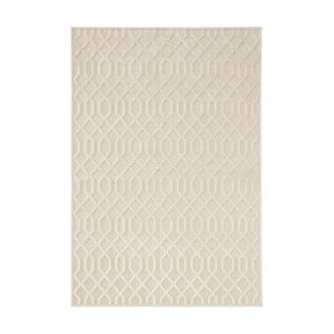 Krémový koberec Mint Rugs Shine Mero, 160 × 230 cm