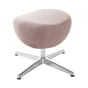 Svetloružová otočná stolička/podnožka My Pop Design Indiana