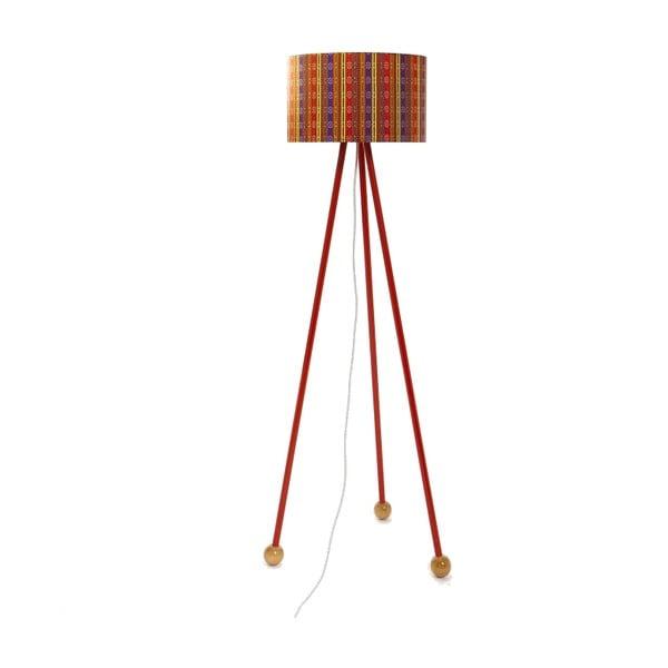 Stojacia lampa Morello Folklor/Red