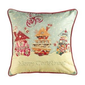 Vianočná obliečka na vankúš Apolena Comfort Merry, 43 x 43 cm