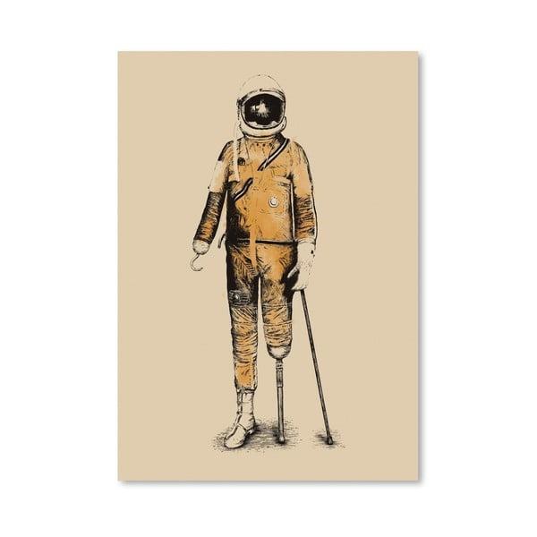 Plagát Astropirate od Florenta Bodart, 30x42 cm