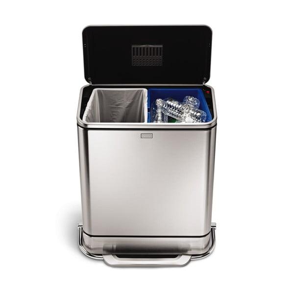 Odpadkový kôš na triedený odpad simplehuman   38 l