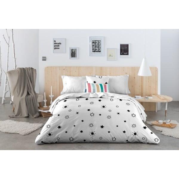 Obliečky Estrellas Negro, 200x200 cm