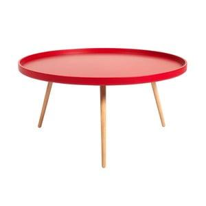 Červený konferenčný stolík Folke Edie