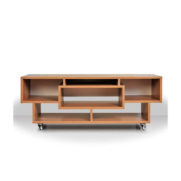 Televízny stolík Duo, teakový
