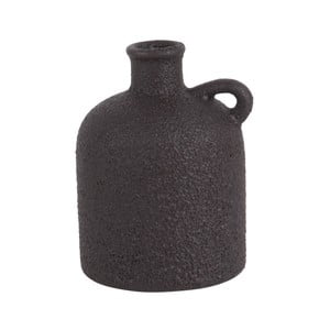 Čierna keramická váza PT LIVING Burly, výška 17 cm