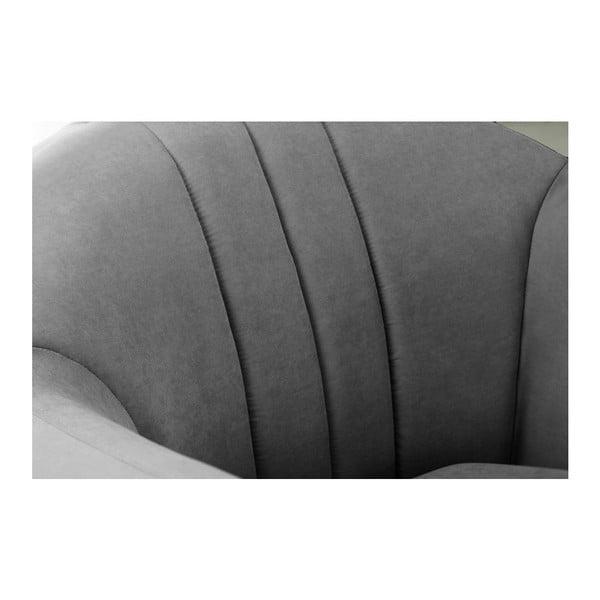 Kreslo Comete Stripes Anthracite